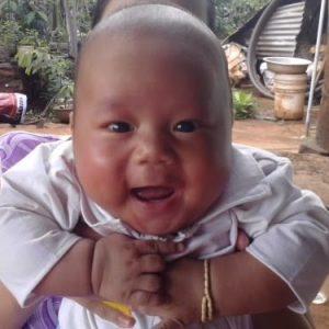 Bé Kiệt lúc 5 tháng tuổi